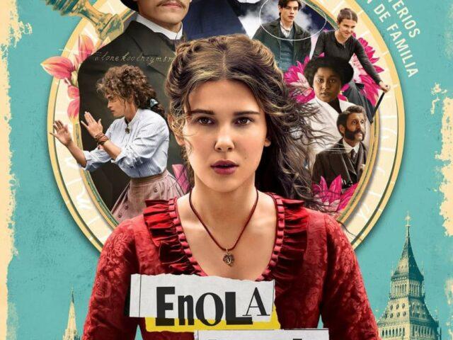 Poster y primer avance de Enola Holmes en Netflix.