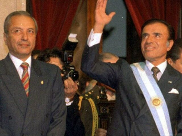 Se viene una biopic sobre Carlos Saúl Menem.