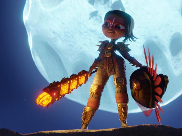 Netflix comparte primeras imágenes de Maya y los tres