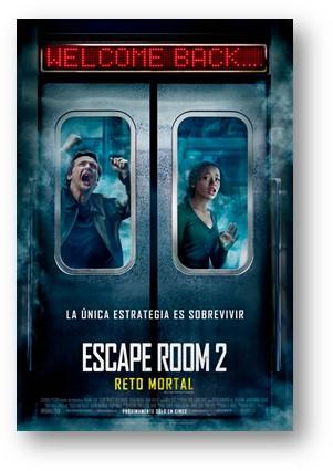 Escape Room 2: Reto Mortal de Adam Robitel.