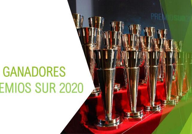 Se conocieron los ganadores de los Premios Sur 2020.